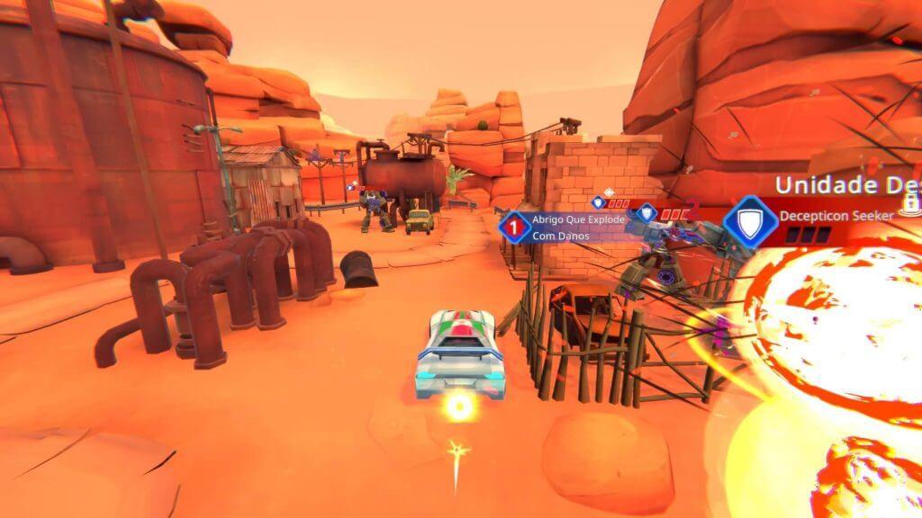 Transformers: Campos de Batalha