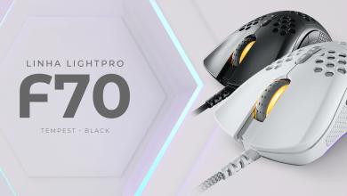 Foto de Fallen lança o mouse F70, novo integrante da linha LightPro
