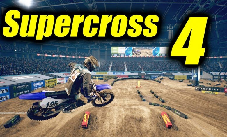 Foto de Monster Energy Supercross – The Official Videogame 4 foi anunciado