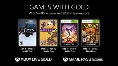 Foto de Xbox anuncia Games with Gold de dezembro de 2020
