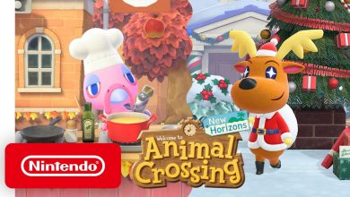 Foto de Animal Crossing: New Horizons atualização de inverno