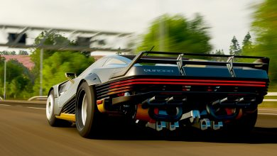 Foto de Forza Horizon 4 ganha o carro Cyberpunk 2077