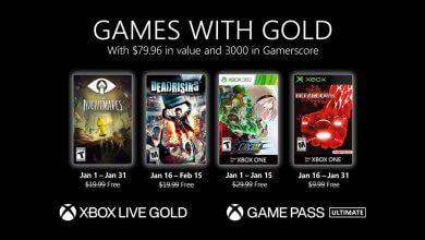 Foto de Xbox anuncia Games with Gold de janeiro de 2021