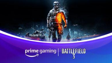 Foto de Battlefield 3 está de graça na Prime Gaming de Dezembro e muito mais!