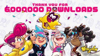 Foto de Ninjala alcança a marca de 6 milhões de downloads