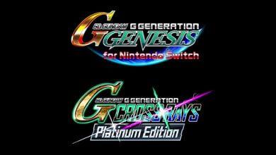Foto de SD Gundam G Generation Genesis e SD Gundam G Generation Cross Rays Platinum Edition ganharão lançamento na Ásia