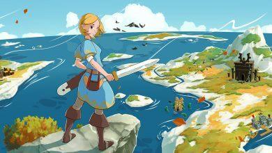 """Foto de RPG de ação no estilo Zelda, """"Ocean's Heart"""" Já disponível"""