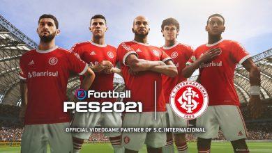 Foto de A Konami é a nova patrocinadora oficial do Sport Club Internacional