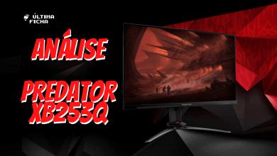 Foto de Análise: Monitor Predator XB253Q (IPS 240Hz G-Sync)