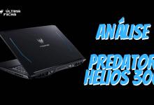 Foto de Análise: Acer Predator Helios 300 (RTX 2060/144Hz)