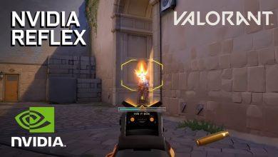Foto de NVIDIA mostra benefícios da tecnologia Reflex em Valorant