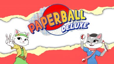 Foto de Paperball Deluxe chega ao Nintendo Switch em 25 de março