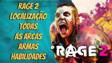 Foto de Rage 2: a localização de todas as arcas