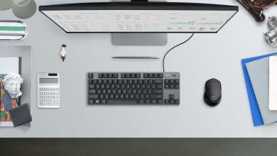 Foto de Logitech K835 TKL é o teclado mecânico para home office
