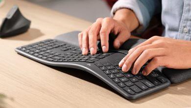 Foto de Logitech K860 é o mais novo teclado ergonômico da marca