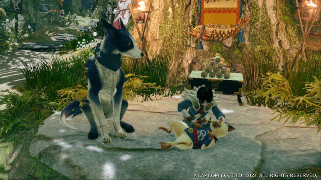 Monster Hunter Rise Amicão e Amigato