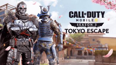 Foto de Call of Duty: Mobile traz A Fuga de Tóquio, na Temporada 3