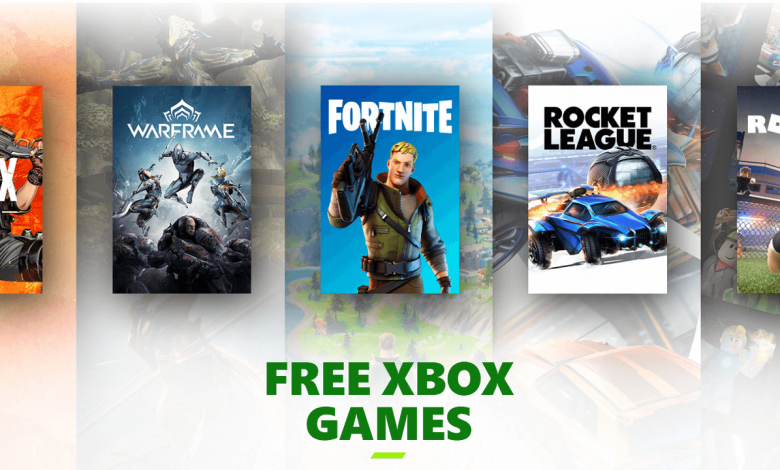 Xbox Free to Play