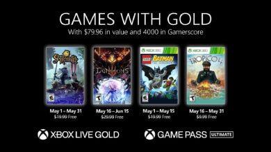 Foto de Jogos gratuítos da Xbox Live Gold de Maio são anunciados