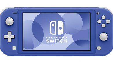 Foto de Nintendo revela Nintendo Switch Lite azul