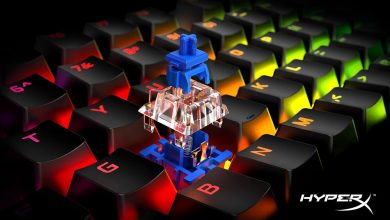 Foto de HyperX lança no Brasil o teclado Alloy Origins Core com switches mecânicos HyperX Blue