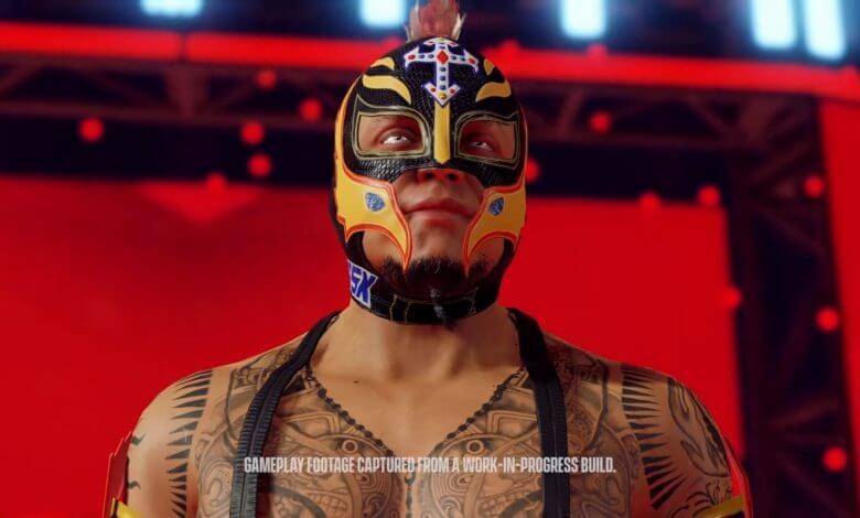Foto de WWE 2K22 é anunciado oficialmente