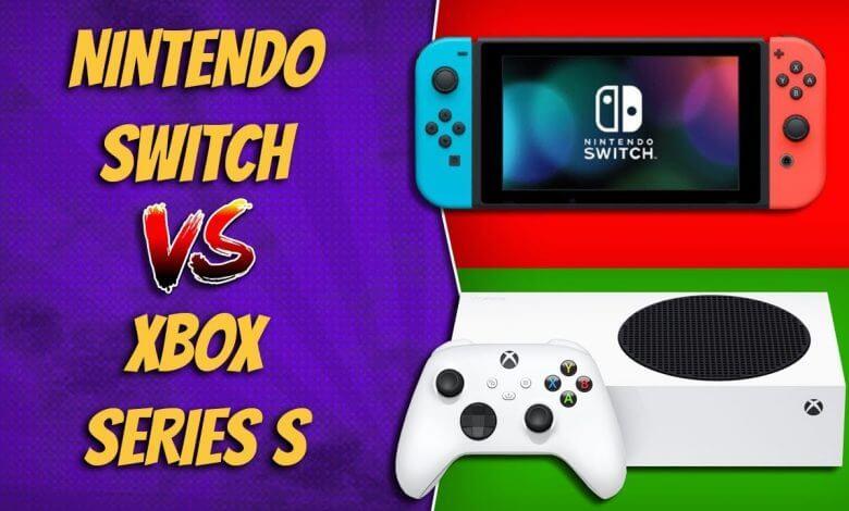 Xbos Series S vs Nintendo Switch comparação qual vale mais a pena custo-beneficio