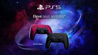 Foto de Controle de PS5 Dualsense preto? Confira novas cores anunciadas!