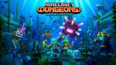 Foto de O DLC de Minecraft Dungeons Hidden Depths chegando