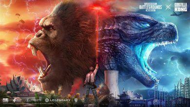 Foto de Novo capítulo de Godzilla VS. Kong em PUBG MOBILE