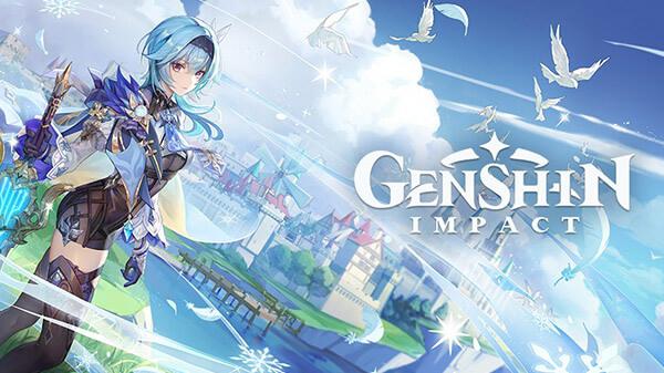 Genshin Impact na Epic Store Games