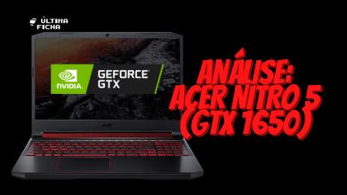 Foto de Análise: Acer Nitro 5 (i5-9300H e GTX 1650)