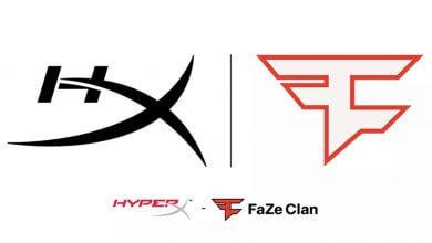 Foto de HyperX anuncia patrocínio à FaZe Clan