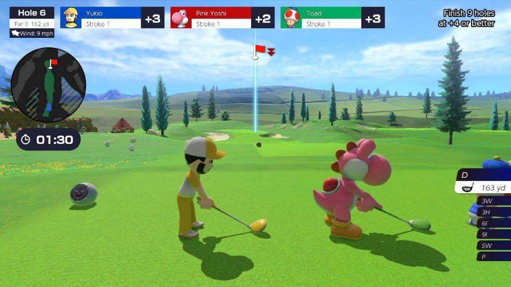 Análise Mario Golf Super Rush