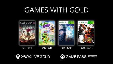 Foto de Revelados os jogos do Xbox Games With Gold de agosto