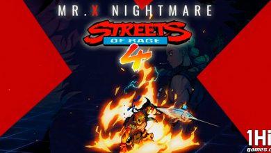 """Foto de DLC """"O Pesadelo de Mr. X"""" de Streets of Rage 4"""