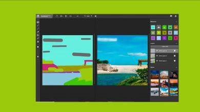 Foto de NVIDIA Canvas cria imagens realistas a partir de rascunhos
