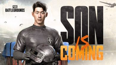 Foto de KRAFTON anuncia skin da sensação do futebol Son Heung-Min em PUBG: BATTLEGROUNDS