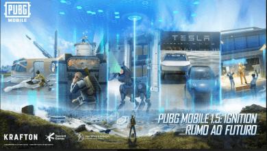 Foto de PUBG MOBILE recebe atualização 1.5 que  traz veículos da Tesla e novo Royale Pass