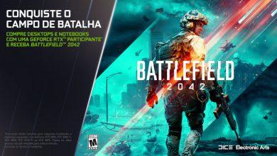 Foto de Promoção de RTX com Battlefield 2042