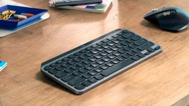 Foto de Logitech lança MX Keys Mini, o teclado sem fio minimalista