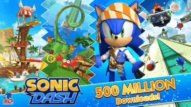 Foto de SONIC DASH quebra barreira de 500 milhões de downloads e torna-se o game mobile de Sonic mais jogado de todos os tempos