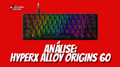 Foto de Análise: HyperX Alloy Origins 60, o GIGANTE compacto