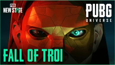 """Foto de """"Fall of Troi"""", novo vídeo cinemático de PUBG: NEW STATE"""