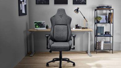 Foto de Razer amplia família de cadeiras Razer Iskur com modelos revestidos em tecido