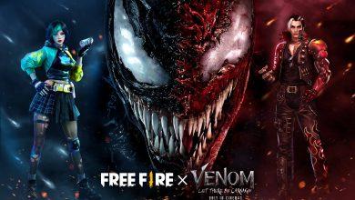 Foto de Free Fire terá evento do filme Venom: Tempo de Carnificina