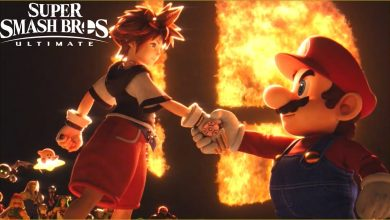 Foto de Sora é o novo personagem de Super Smash Bros Ultimate